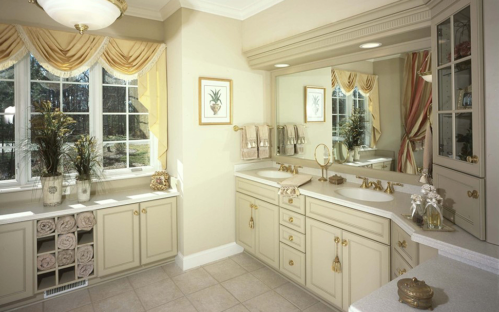 Custom Wood Products Bathroom Cabinets Victorian