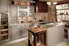 Eclectic Kitchen Cabinets