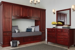 Dark Bedroom Cabinets