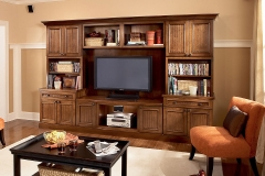 Dark Entertainment Cabinets
